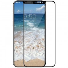 Защитное стекло Mocoll 2.5D 0.3mm Full Cover Tempered Glass Apple iPhone X Black