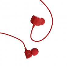 Наушники Remax RM-502 Earphone Red